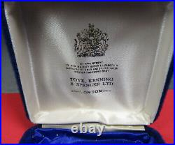 1973-74 The Chinese Exhibition (London) Hallmarked Silver Medal. Box & COA(1126)