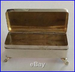 19th Century China Chinese Wang Hing Export Silver Box