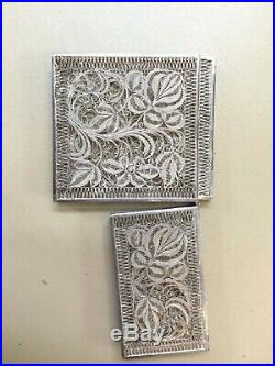 19th Century Chinese Silver Filigree Export Case Box