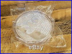 2014 Chinese Panda Commemorative Silver Plated Coin 1kg with COA and Box