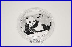 2015 5 oz Proof Silver Chinese Panda Coin with COA and Box #A294