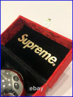 2015 Fw15 Supreme Chinese Baoding Meditation Balls + Box Box Logo Silver Red