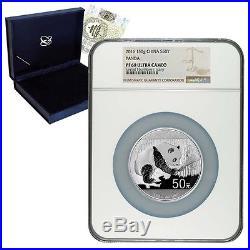 2016 150 gram Chinese Silver Panda 50 Yuan NGC PF 69 (withBox & COA)