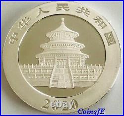 2020 Chinese Panda Colour 1oz. 999 Silver Coin Box & Coa