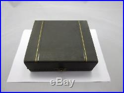 4 Antique Chinese Export Silver Salars in Box, Cumwo 19th Century /China Saliere