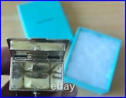 AUTHENTIC TIFFANY & CO RARE VINTAGE Silver Chinese Take Out Pill Box