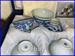 Antique Asian 5 silver boxes Chinese jade round turquise enamel box cloisonne bo
