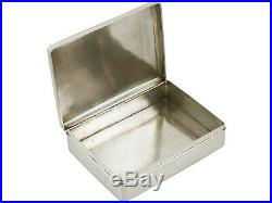 Antique, Chinese Export Silver Cigarette Box by Wang Hing & Co 436g