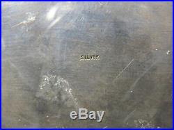 Antique Chinese Export filigree silver & enamel box # CS132