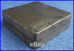 Antique Chinese Silver & Copper Box