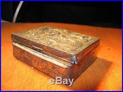 chinese silver jewel box
