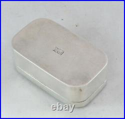 Antique Chinese Silver SNuff Box Signed 40g AZX