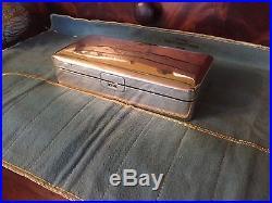 Antique Circa 1850's KC 90 Chinese Export Silver Box 396 grams