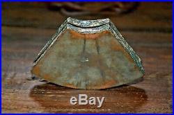 Antique Silver Metal Chinese Repousse Cloisonne Enamel Box