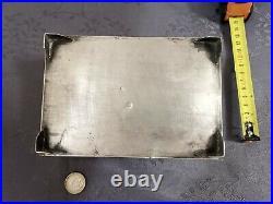 Argent Massif Birmanie Cambodge Grande Boite Chinese Export Silver Box 2
