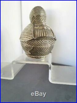 Argent Massif Boite Zoomorphe Asie Du Sud Est Chine Du Sud Chinese Silver Box