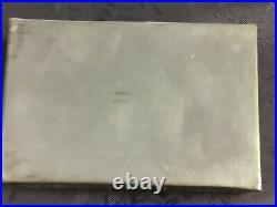Argent Massif Indochine Vietnam Boite Chinese Export Silver Box