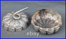 Boîte en argent massif Chine Indochine (chinese indochina silver case box)