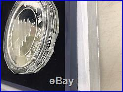 CHINESE SILVER PANDA 2016 150 Gram Silver Proof Coin Box and COA