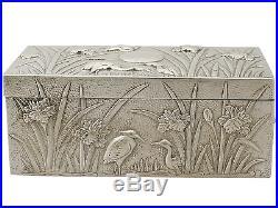 Chinese Export Silver Box Antique Circa 1900
