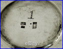 Chinese Export Silver Dragon Cocktail Shaker c1890 Luen Hing