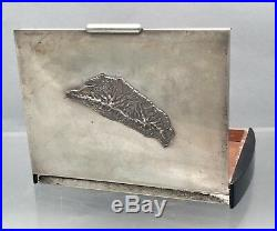 Chinese Silver Cigar Box Art Deco