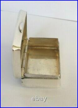 Chinese Silver Snuff Box