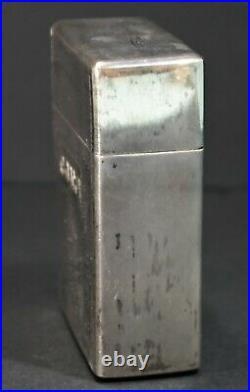 Chinese Sterling Silver Bamboo Design Cigarette Box Art Deco Store Tea Box