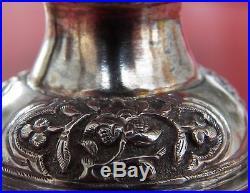 Chinese Straits Betel Nut Box, Silver Gold Gild ca. 1800s Peranakan