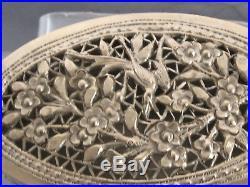 Chinese export silver box boite en argent asiatique de 151g