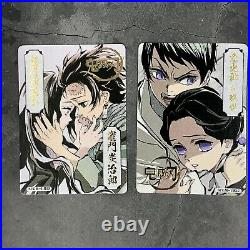 Demon Slayer Kimetsu no Yaiba Trading Card Game TCG SILVER FOIL Sealed Box USA