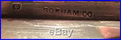 Exceedingly Rare Antique Sterling Silver Gorham Chinese Motif Opium Box