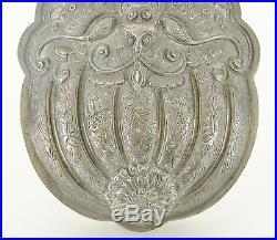 Fine Antique Chinese Sterling Silver Bat Buddha Hand Box Japanese Emperor Meiji