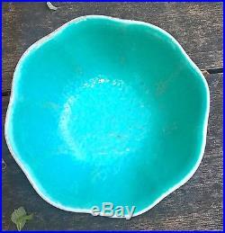 Fine large antique 19th cent chinese porcelain bowl enamel colours