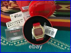 G-Shock metal bezel Bluetooth Gold IP Edition. Chinese new year GM5600CX-4D