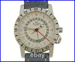Glycine Airman Base 22 Limited Edition Chinese Characters Watch 3887.11C