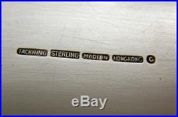 IMPORTANT Hong Kong Chinese Export Silver TACK HING Box GE-WO SAPIENTIA VIRTUS