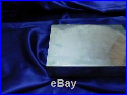 Large Luen Wo Chinese Export Sterling Silver Box Excellent Condition