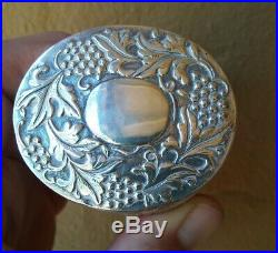 Magnificent Antique Chinese Silver Box 19th Century 1800s Superb