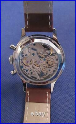 Men's 1963 RED STAR ST1901 Chinese Air Force Pilots Mechanical Chronograph Watch