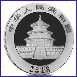 Monster Box of 450 2018 30 gram Chinese Silver Panda 10 Yuan. 999 Fine BU 30