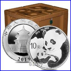 Monster Box of 450 2019 30 gram Chinese Silver Panda 10 Yuan. 999 Fine BU 30
