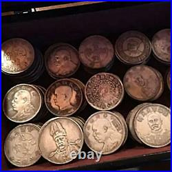 Old Chinese Cash Silver Coin Qing Dynasty Wholesale Many a Lots Set without Box