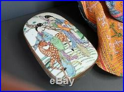 Old Chinese Enameled Silver-Plated Box beautiful collection and accent piece