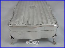 RARE, CHINESE silver, ART DECO, JEWELLERY BOX, c1930, 462gm