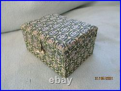 Rare Antique Chinese Solid Silver Ornamental Garden Bridge Lidded Container