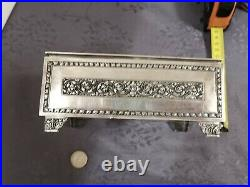 Solid Silver Burma Cambodia Large Box Chinese Export Silver Box 2
