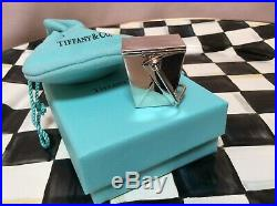 Tiffany & Co Chinese Take Out Pill Box Sterling Silver