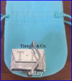 Tiffany & Co Chinese Take Out Sterling 925 Silver Pill Trinket Box Pendant