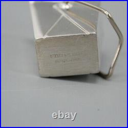 Tiffany & Co Pagoda Chinese Take Out Sterling Silver Pill Box